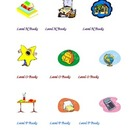 Classroom Leveled Book Tags for Bins/Folders