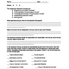 Classroom Librarian Application & Hire Letter