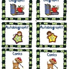 Classroom Library Labels - By Genre