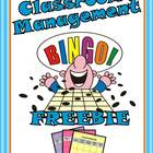 Classroom Management Bingo {FREEBIE}