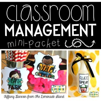 Classroom Management Mini-Packet