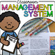 Classroom Management System - Clothespin Behavior Chart, V