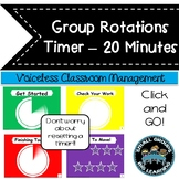Classroom Management Timer 20 Minutes