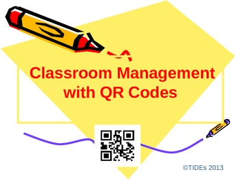 Classroom Management with QR Codes