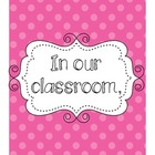 Classroom Norms and Expectations Printable Posters - Brigh