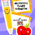 Classroom Parent Handbook