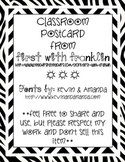 Classroom Postcard Pack ~FREEBIE~