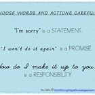 Classroom Poster - Choosing Words Carefully