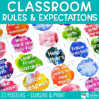 Classroom Principles Posters