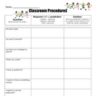Classroom Procedures (Anticipatory Set/Management)