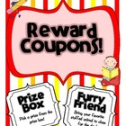 Classroom Reward Coupons {33 Easy to Use Coupons and Brain