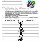 Classroom Rules A Cooperative Group Activity for Back to School