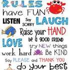 Classroom Rules- Ocean Theme {freebie}