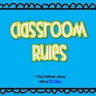 "Classroom Rules Poster {Whole Brain Teaching} - ""I Can..."""