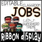 Custom Classroom Rules {Superhero Edition}