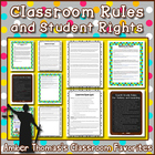 Classroom Rules and Student Rights Packet