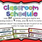 Classroom Schedule Chart