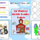 Classroom Schedule/Routine Posters - 102 pages