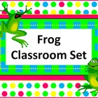 Classroom Set- FROGS THEME