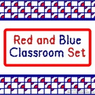Classroom Set- Red and Blue