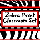 Classroom Set- ZEBRA (red)