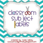Classroom Subject Labels_Chevron_FullVersion