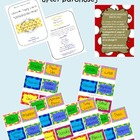Classroom Supply Labels ~ Set of 36 ~ Whimsical, Medium Shades