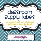 Classroom Supply Labels_Back to School Chevron