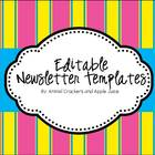 Classroom Times Monthly Newletter ( Editable)