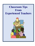 Classroom Tips From Experienced Teachers