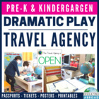 Classroom Travel Agency: Enhancing Dramatic Play