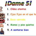 Classroom management tools for bilingual (Spanish) primary class