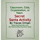 Classroom or Team Secret Santa