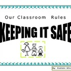 Classroom rules slide set
