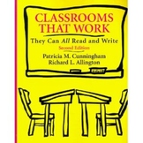 Classrooms that Work: They can All Read and Write Book