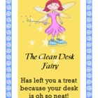 Clean Desk Fairy Cards
