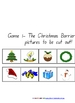 Clever Classroom&#039;s Christmas Barrier Games - 9 pages