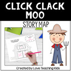 Click, Clack, Moo Cows That Type story map