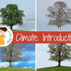 Climate Introduction lesson plan and handouts &amp; smartboard file