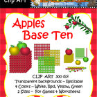 Clip Art - Apples, Base Ten