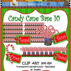 Clip Art Candy Cane Base Ten