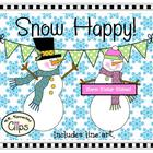 Clip Art Collection ~ Snow Happy!