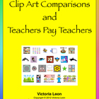 Clip Art Comparisons and Teachers Pay Teachers