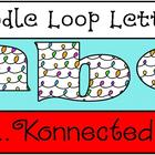 Clip Art - Doodle Loop Letters! (lower  case) - Commercial use