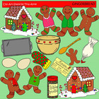 Clip Art Gingerbread