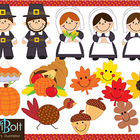 Clip Art - Give Thanks, Thanksgiving Clip Art