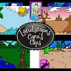 Clip Art~  Landscapes (Landforms, Geology)