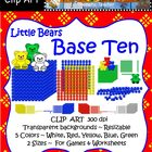 Clip Art--Little Bears Base Ten