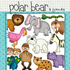 Clip Art: Polar Bear & Friends