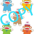 Clip Art Sock Monkey